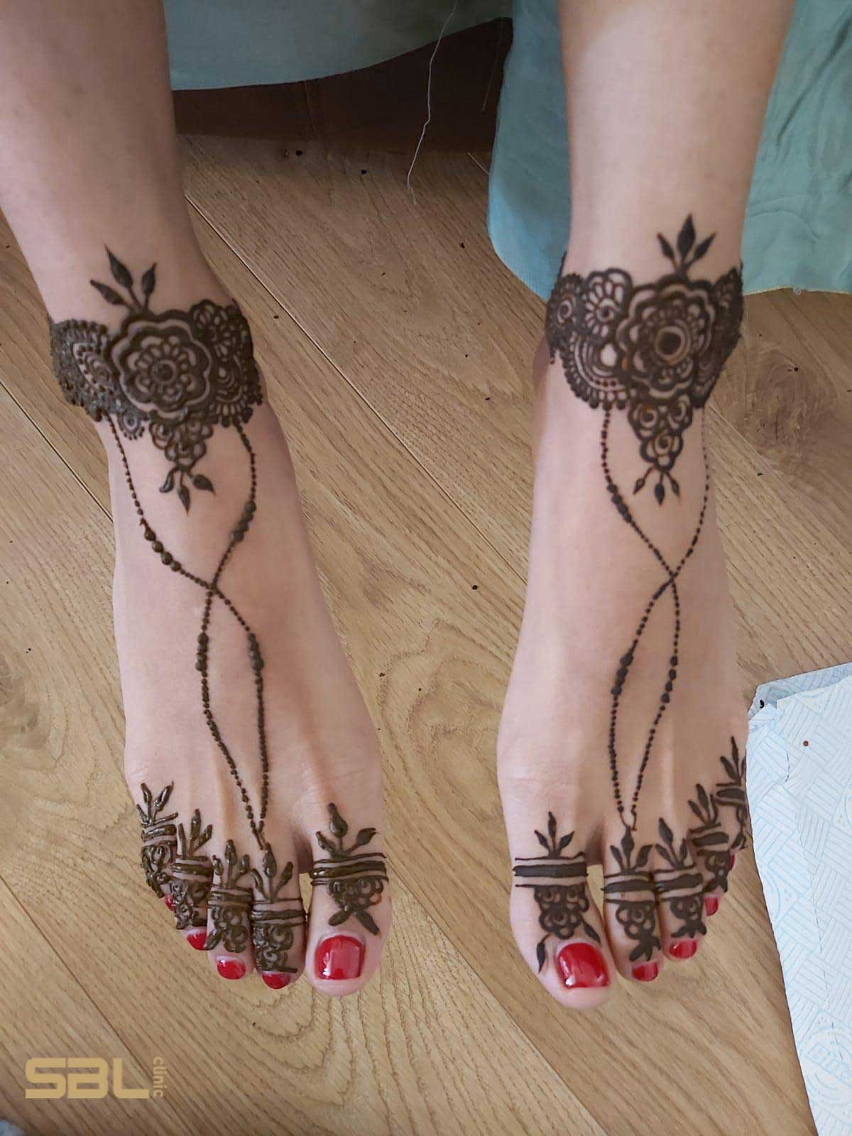 Black Henna Tattoo Uk: Henna Tattoos In London By Slim Bodyline Clinic